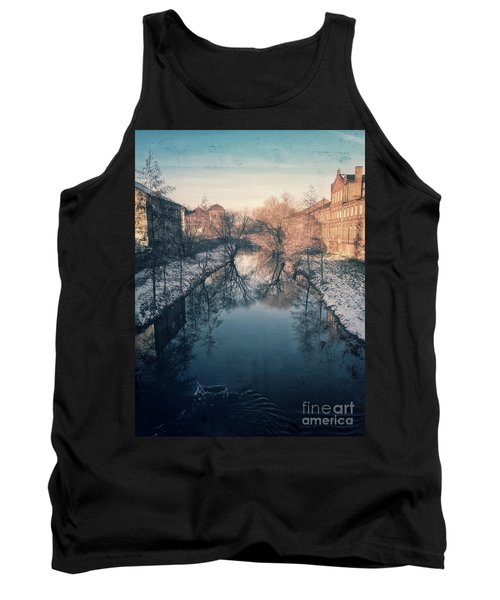 View Onto The River  Tank Top