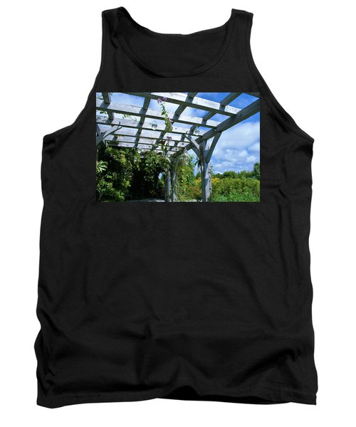 View To The Sky Tank Top by Lois Lepisto