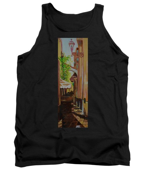 Tank Top featuring the painting Ville Franche 11 by Julie Todd-Cundiff