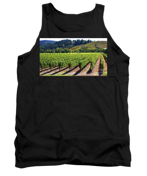 Vineyards In Sonoma County Tank Top