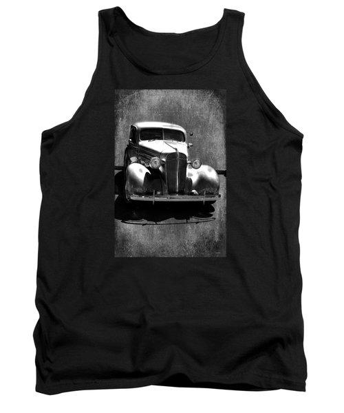 Vintage Car Art 0443 Bw Tank Top
