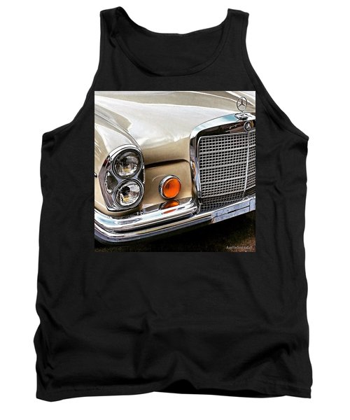#vintage #car Corner Peek-a-boo Tank Top