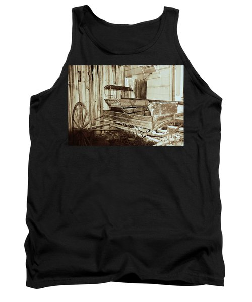 Vintage Carriage Tank Top by Ray Shrewsberry