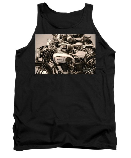 Vintage Motorcycles Tank Top