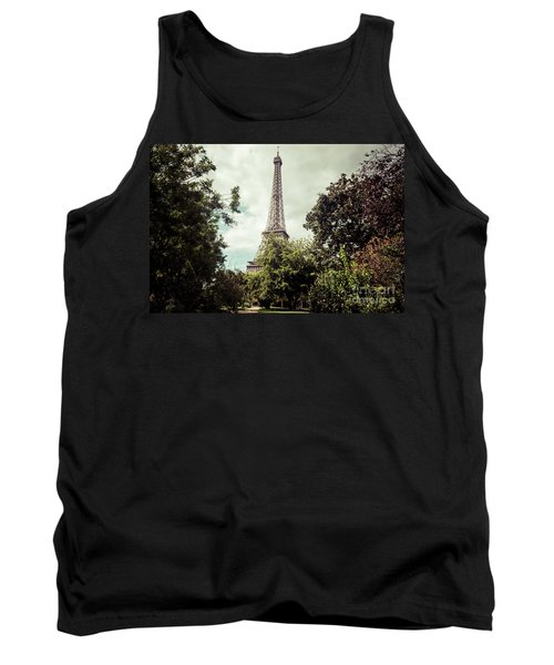 Vintage Paris Landscape Tank Top