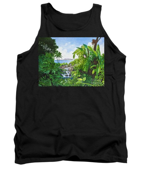 Visions Of Paradise Ix Tank Top by Michael Frank