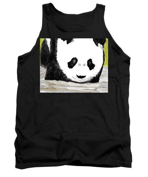 Vivi's Pet Panda Tank Top