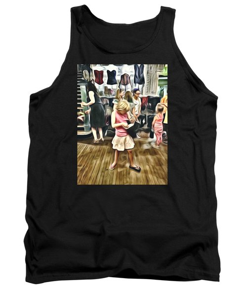 Tank Top featuring the photograph Vivo by Lanita Williams