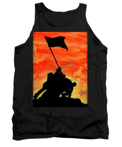 Vj Day Tank Top by P J Lewis