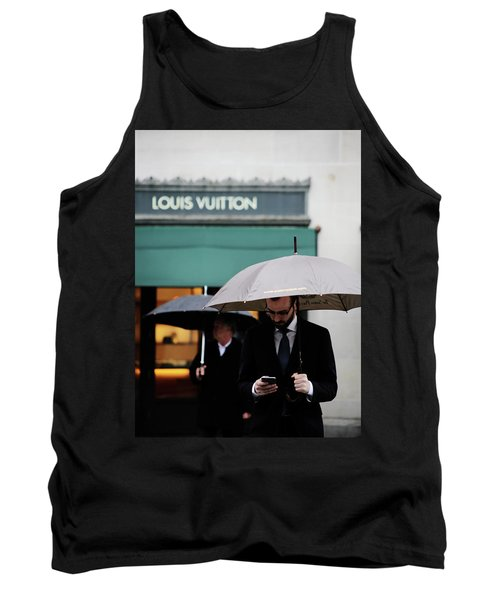 Tank Top featuring the photograph Vuitton by Empty Wall