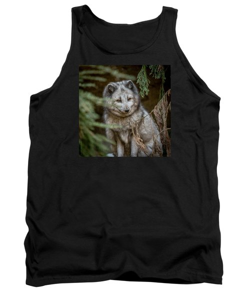 Tank Top featuring the photograph Waiting For Red by Wade Brooks