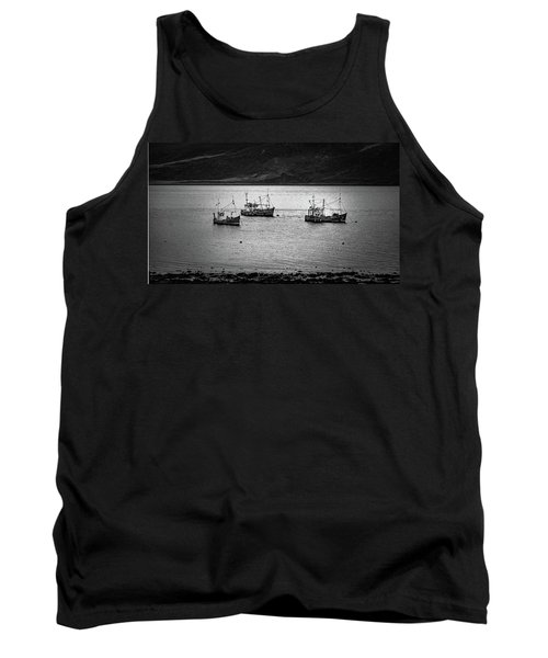 Waiting To Fish - Ullapool - Wester Ross - Scotland Tank Top