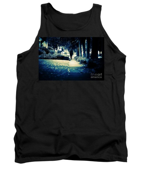 Walking A Lonely Path Tank Top