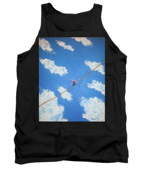 Walking The Line Tank Top
