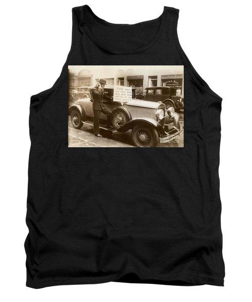Wall Street Crash, 1929 Tank Top