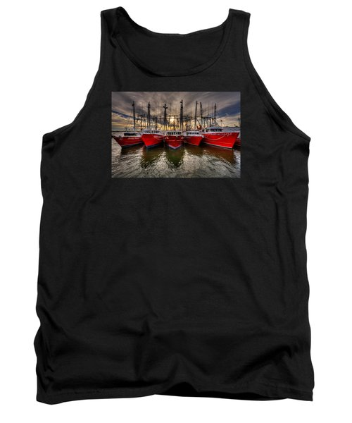 Wanchese Fish Company Tank Top by Jerry Gammon