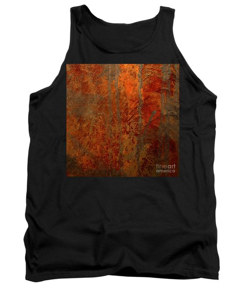 Tank Top featuring the mixed media Wander by Michael Rock