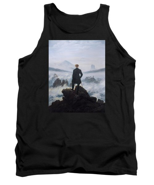 Wanderer Above The Sea Of Fog Tank Top