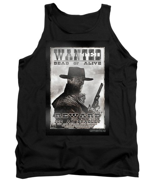Wanted Poster Notorious Outlaw Tank Top