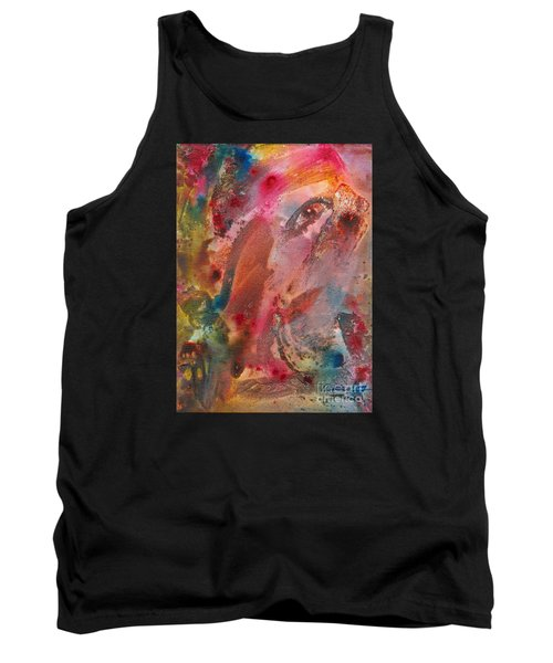 Wanting To See Or Not Tank Top by Denise Hoag