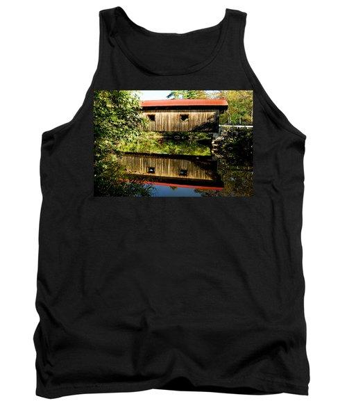 Warner Covered Bridge Tank Top by Greg Fortier