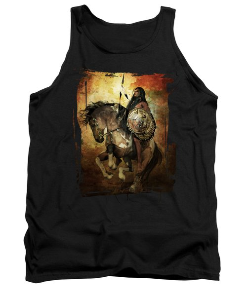 Warrior Tank Top by Shanina Conway