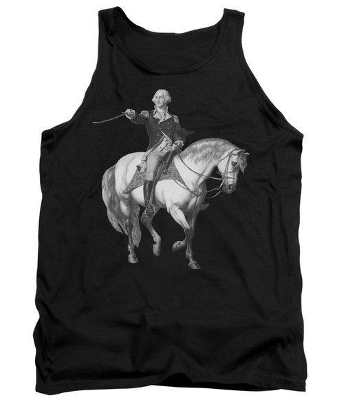 Washington Receiving A Salute At Trenton Tank Top