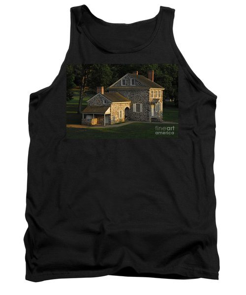 Tank Top featuring the photograph Washington's Headquarters At Valley Forge by Cindy Manero