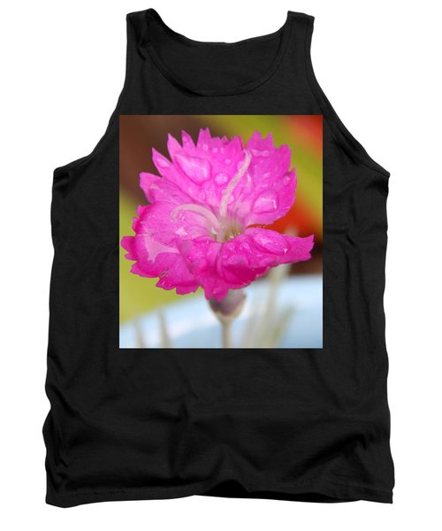 Water Bug Flower Tank Top by Samantha Thome