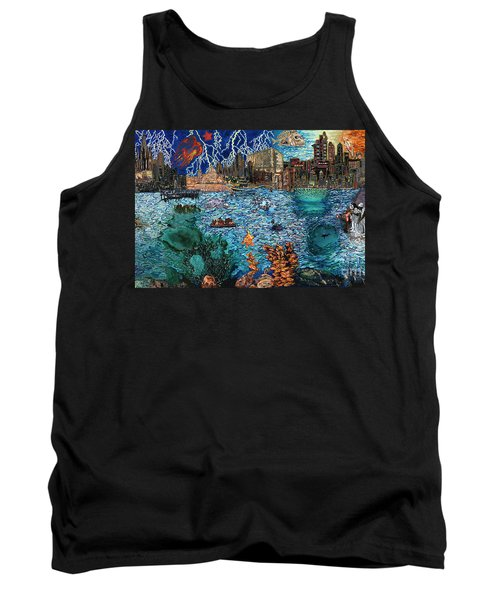 Water City Tank Top by Emily McLaughlin