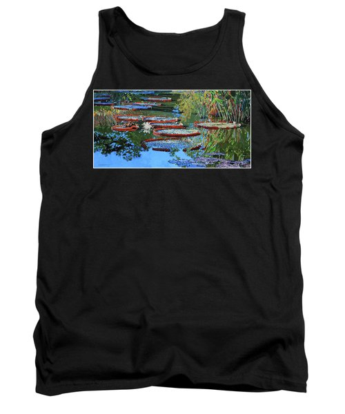 Water Lilies For Amelia Tank Top