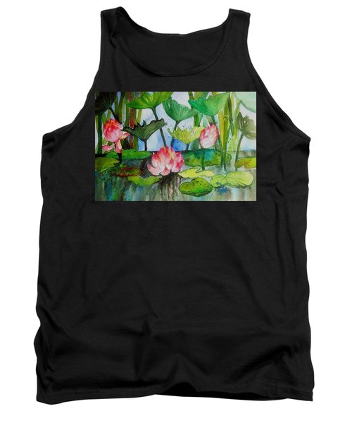 Water Lillies Two Tank Top