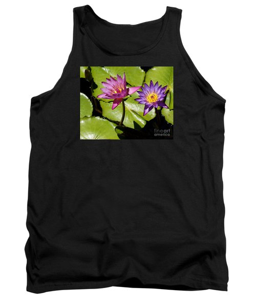 Water Lily 14 Tank Top