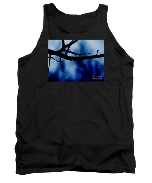 Water On Branch Tank Top by Craig Walters