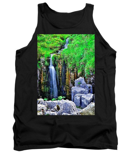 Waterfall At The Buttertubs, Swaledale Tank Top