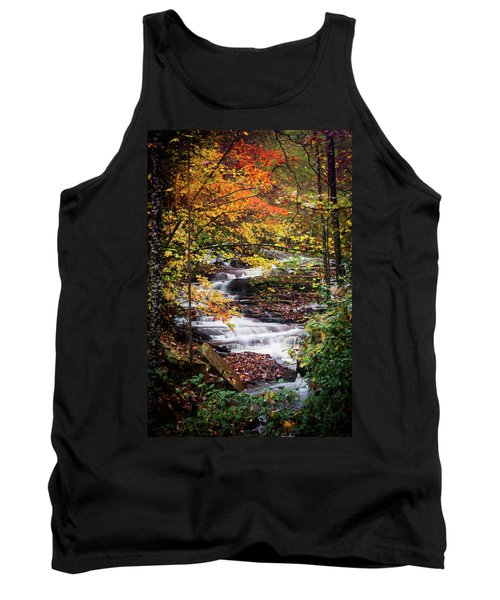 Tank Top featuring the photograph Waterfall Kaleidoscope  by Parker Cunningham