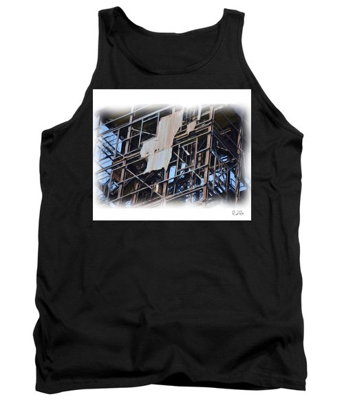 Waterfront Decay Three Tank Top