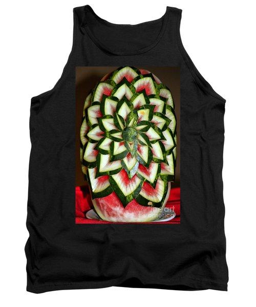 Watermelon Art Tank Top