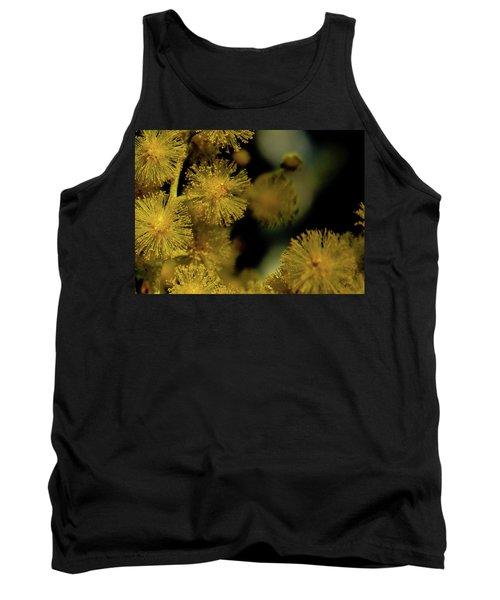Wattle Flowers Tank Top