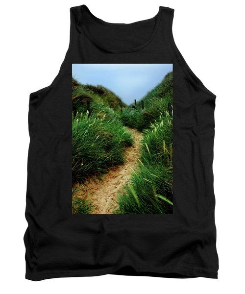 Way Through The Dunes Tank Top by Hannes Cmarits