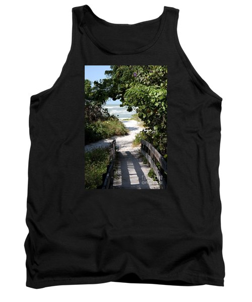 Way To The Beach Tank Top by Christiane Schulze Art And Photography