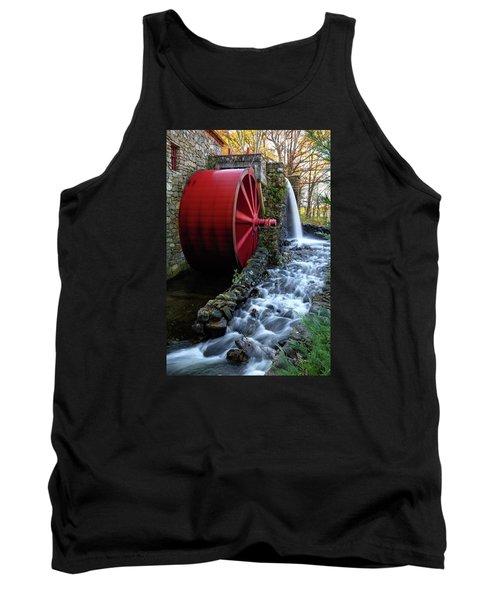 Wayside Inn Grist Mill Water Wheel Tank Top