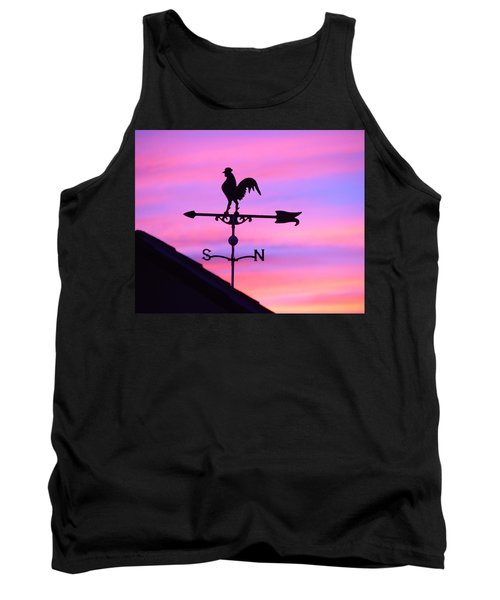 Tank Top featuring the digital art Weather Vane, Wendel's Cock by Jana Russon