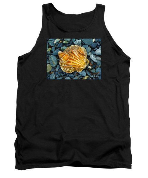 Weathered Scallop Shell Tank Top by Judi Bagwell