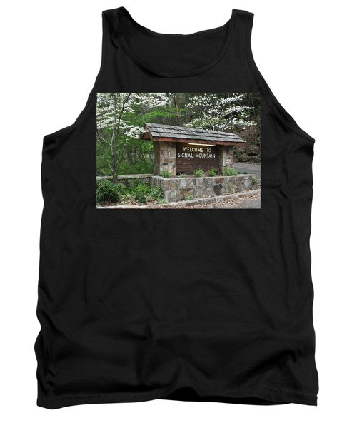 Welcome To Signal Mountain Spring Tank Top