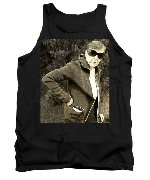 Well Are You Coming Tank Top by Lenore Senior