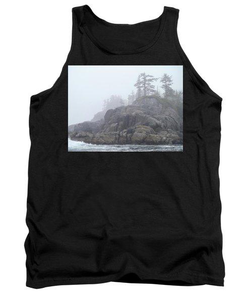 West Coast Landscape Ocean Fog I Tank Top