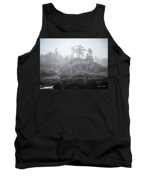 West Coast Landscape Ocean Fog IIi Tank Top