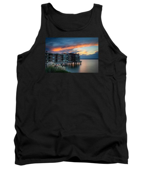 Tank Top featuring the photograph West Seattle Living by Dan Mihai