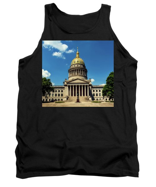 West Virginia Capitol - Charleston Tank Top by L O C